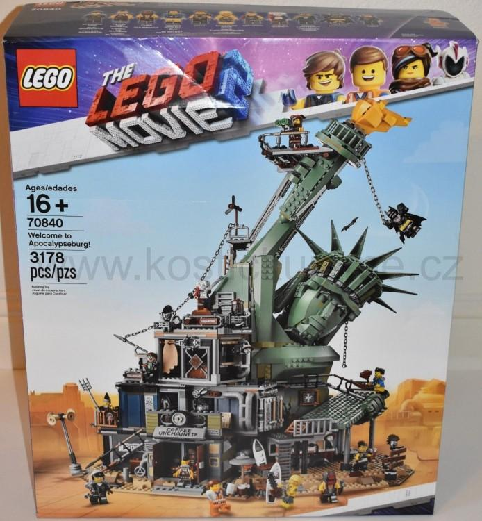 Lego Movie 2 70840 Vítejte v Apokalypsburgu!