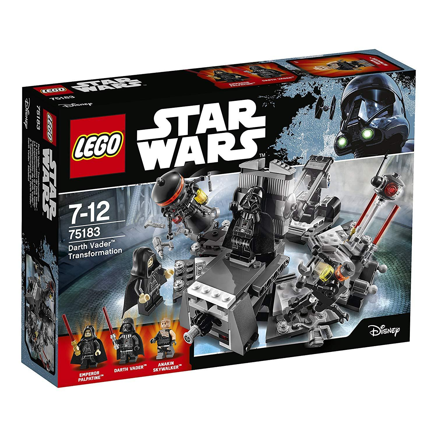 Lego Star Wars 75183 Premena Darth Vadera