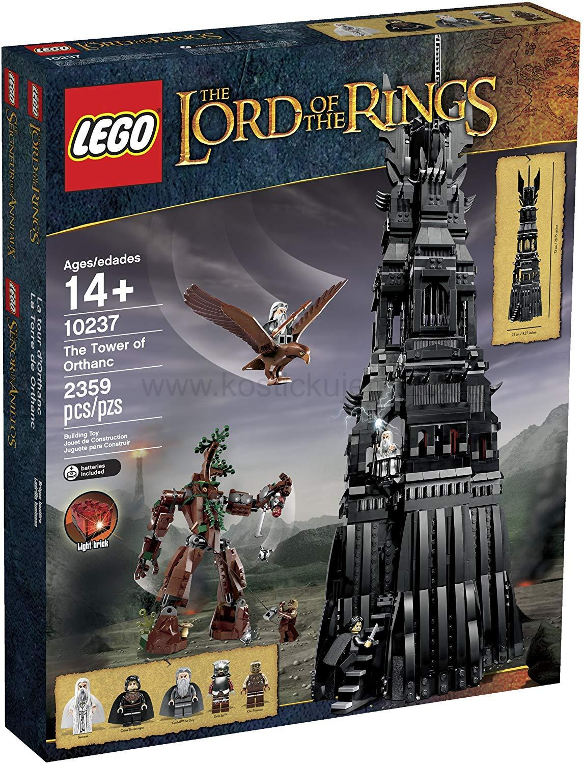 Lego Lord of the Rings 10237 Věž Orthanc