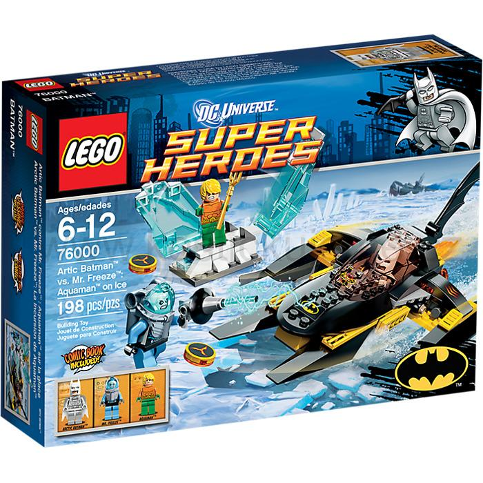 Lego Super Heroes 76000 Artic Batman versus Mr. Freeze Aquaman pod ledem