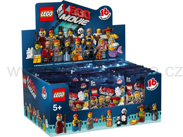 Lego Creator 71004 Minifigurky Movie - Originál Box 60 ks