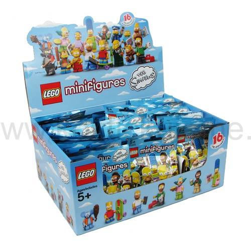 Lego Creator minifigurky 71005 Simpsons BOX 60 ks