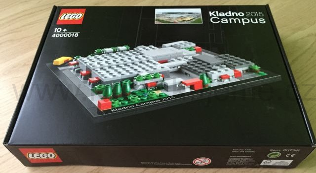 Lego Limited Edition 4000018  Production Kladno Campus 2015