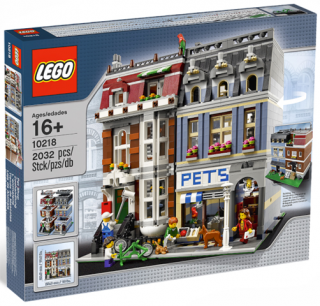 Lego Creator 10218 Zverimex - Pet Shop