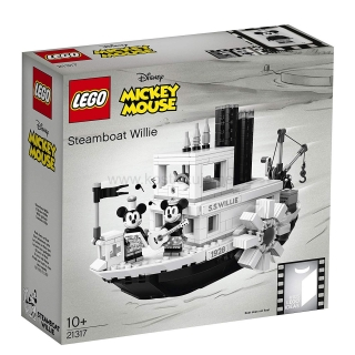 LEGO Ideas disney 21317 Parník Willie